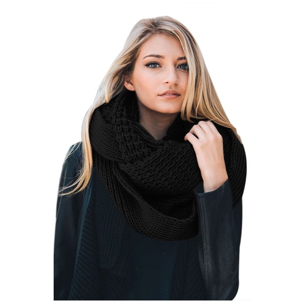 Chunky Knit Loop Scarf