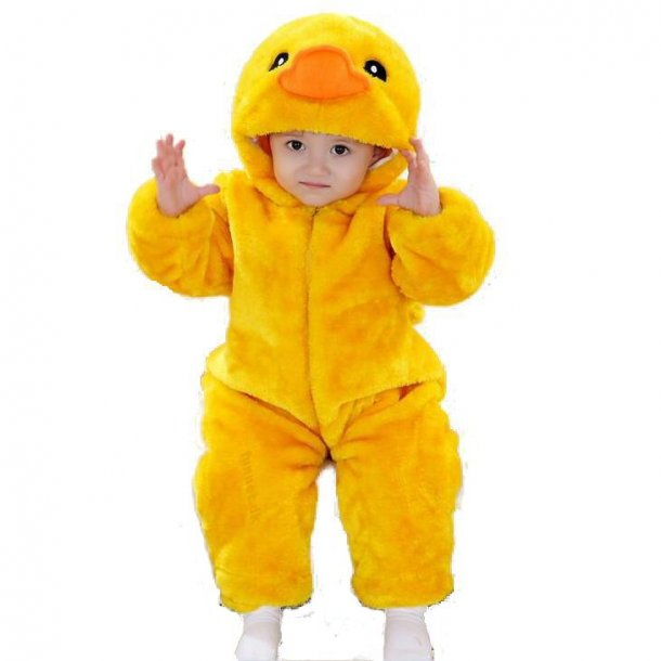 Yellow Duck romper Jumpsuit Baby