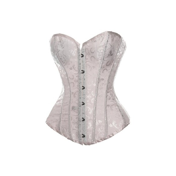 Embroidered Satin Adult Corset