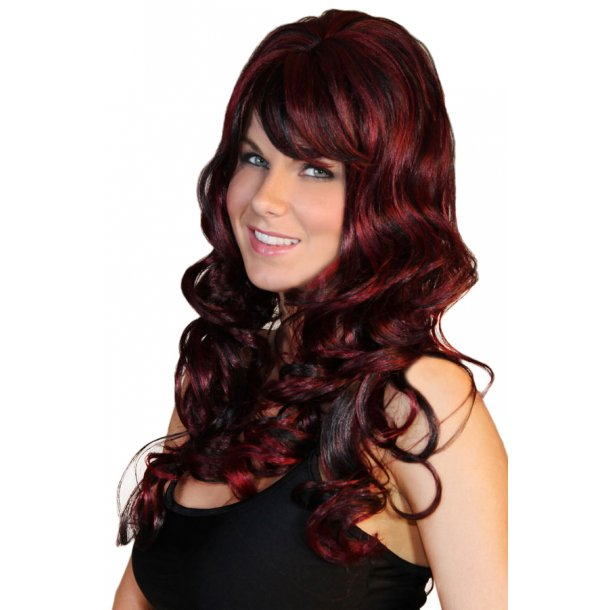 Dark Red Wig