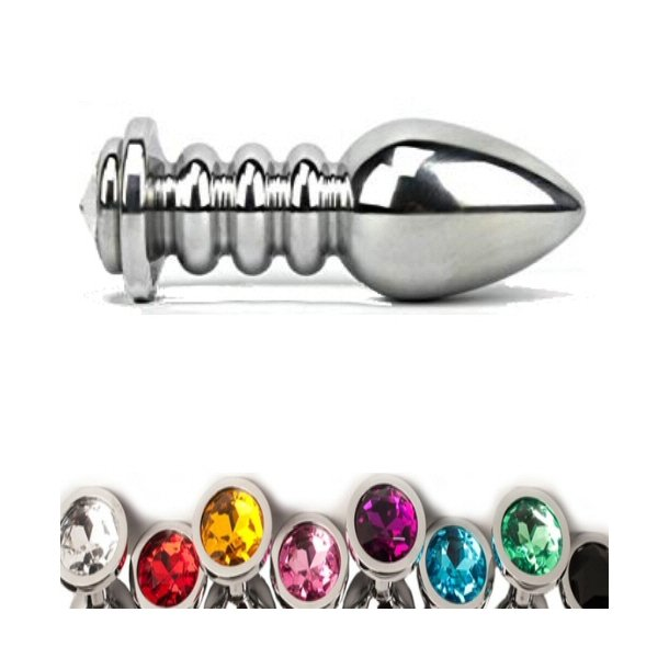 Screw Stainless Steel Attractive Butt Plug