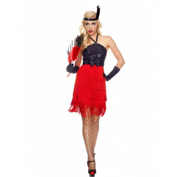 Glamour Sequin Flapper Costume