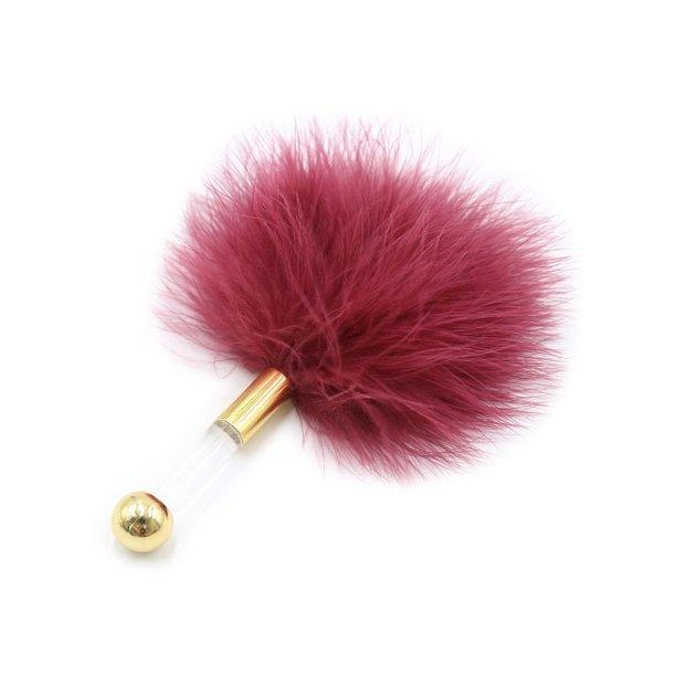 Vermilion Lovers Feather Tickler