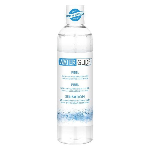 Waterglide feel lubricant and sensation gel 300ml