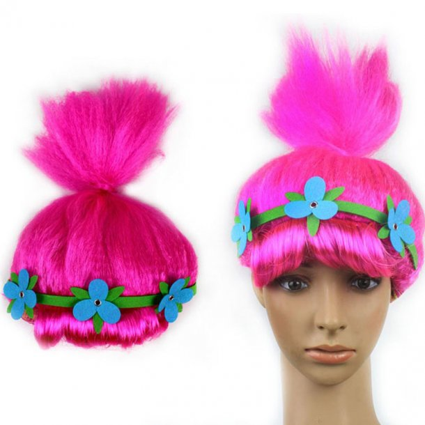 Fuchsia Hair Modeling Wig