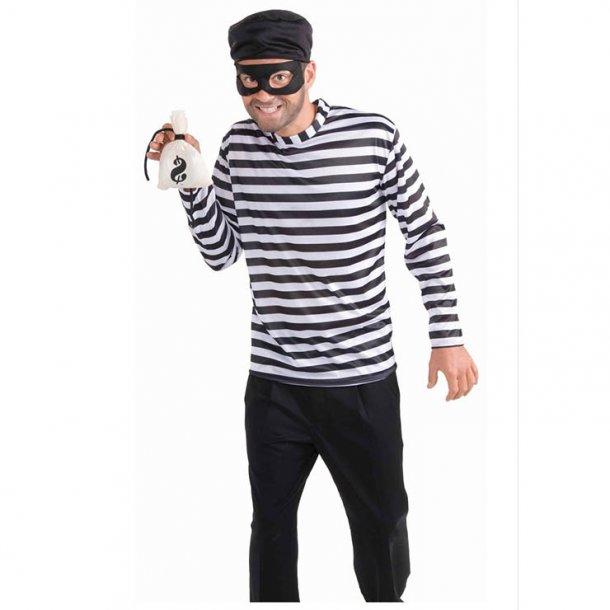 Men's Bank Robbin Bandit Adult Cosplay