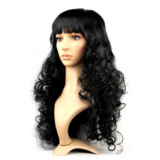 Black Masquerade Long Wig
