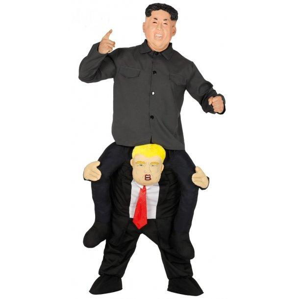 President Donal Trump og Kim Jong-un
