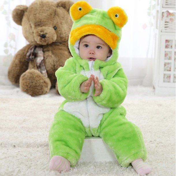 Little Frog Jumpsuit Romper