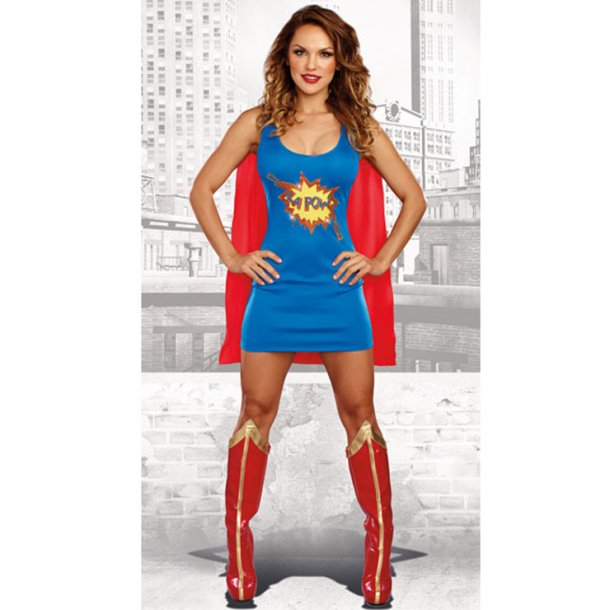 2 Piece Sexy Super Women Role-playing Costume