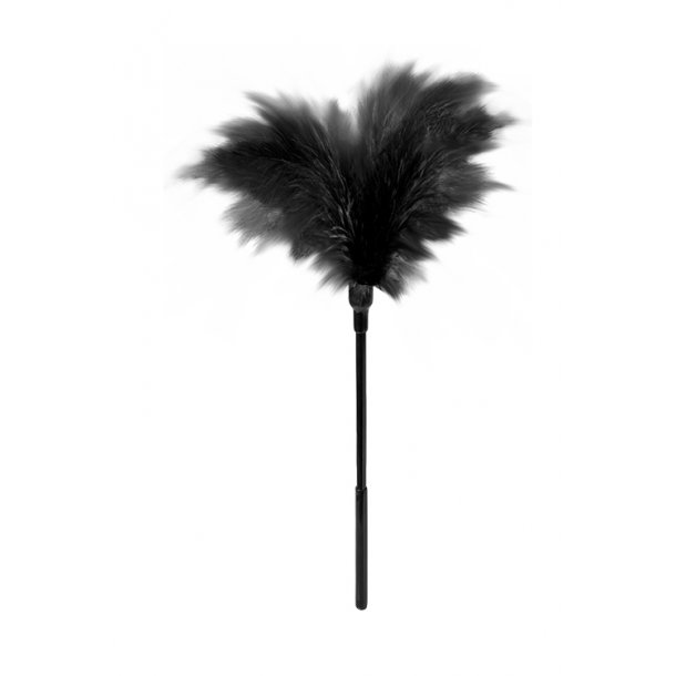 SMALL FEATHER TICKLER BLACK