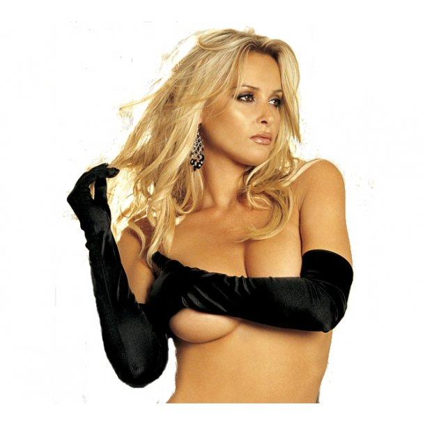 Sexy Black Gloves