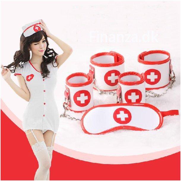 Naughty Nurse Bondage Kit - 3 Pcs